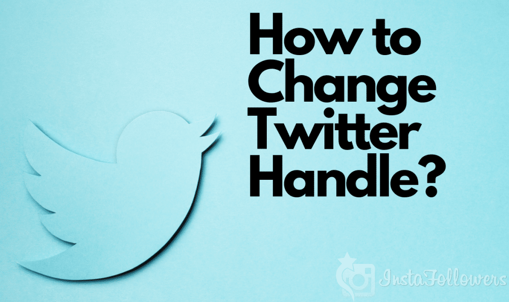 How To Change Twitter Handle