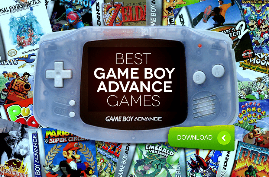Best Selling GBA Games