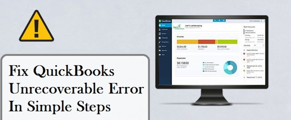 quickbooks-unrecoverable-error