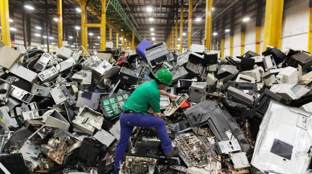 Why are Tech industries considering electronic waste